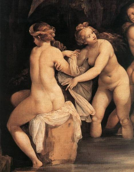 Diana And Actaeon detail